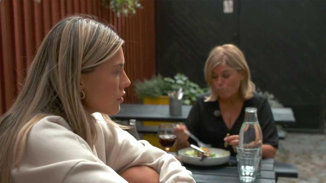 Bianca Ingrosso bråkar med mamma Pernilla Wahlgren.