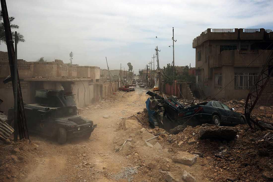 Västra Mosul, Irak.