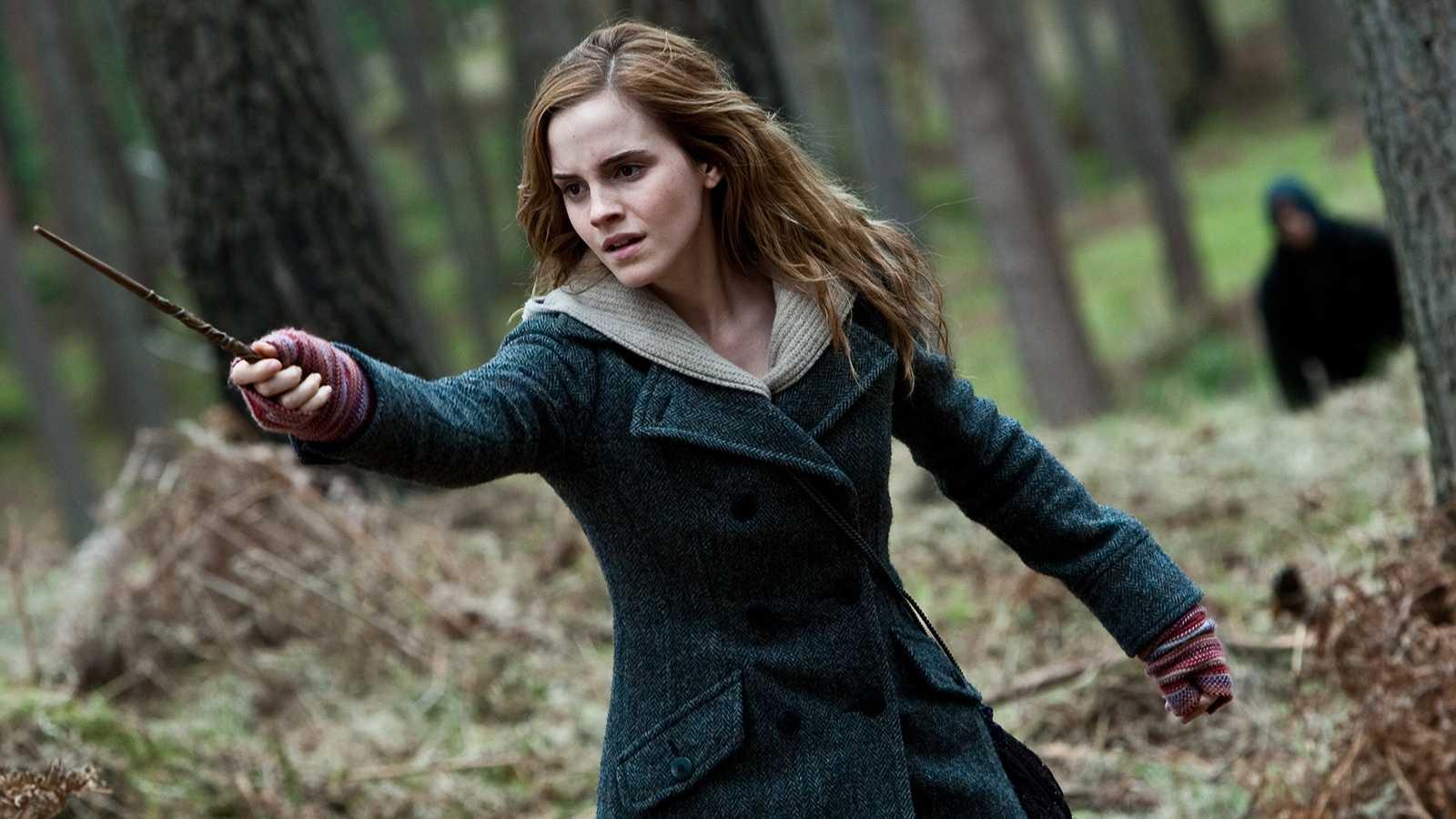 "Emma Watson som Hermione Granger i ""Harry Potter""."