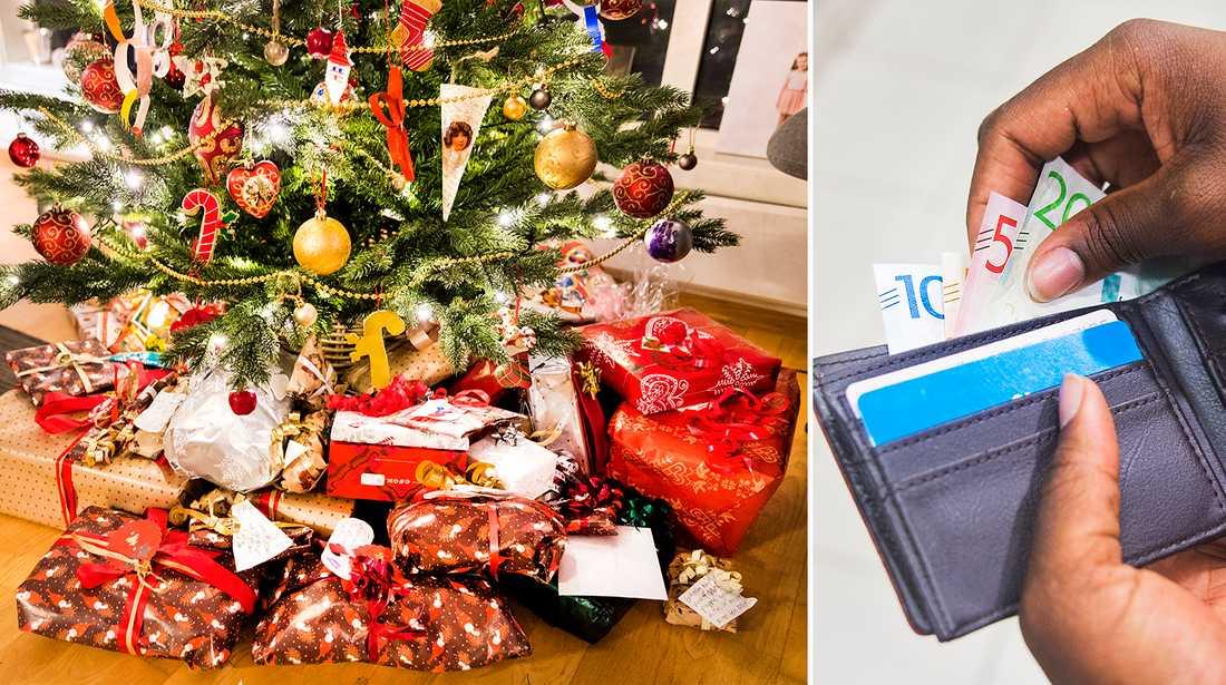 Undersökning visar att föräldrar vill ge färre julklappar.
