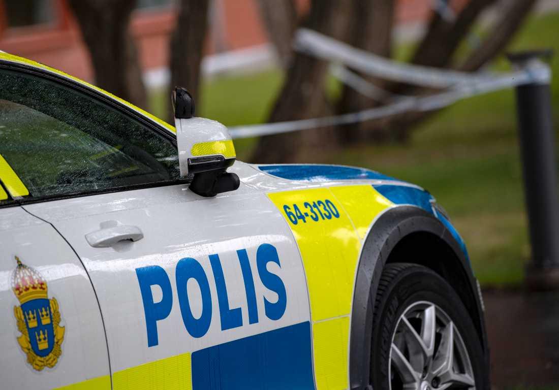 Polisen betalar skadestånd efter att ha kört på en moped. Arkivbild.