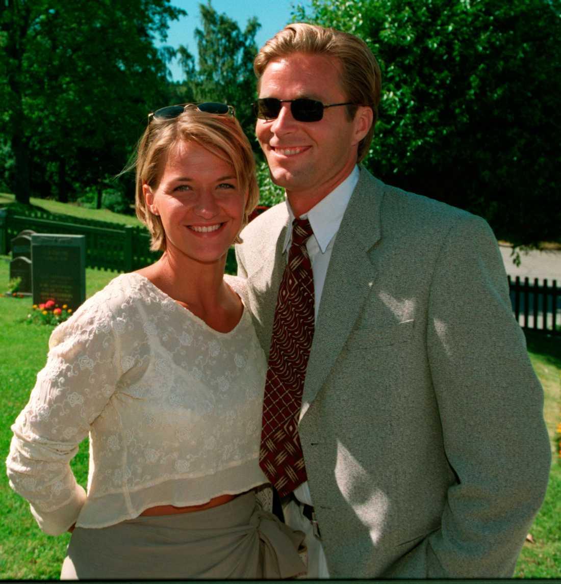 Kristin har ett barn tillsammans med Martin Lamprecht.