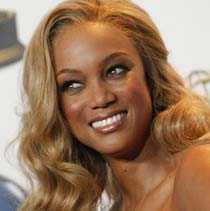 """Supermodellen Tyra Banks är programledare för den populära talkshowen """"The Tyra Banks Show""""."""