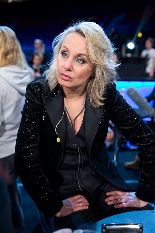 Louise Hoffsten ensam kvinna i finalen.