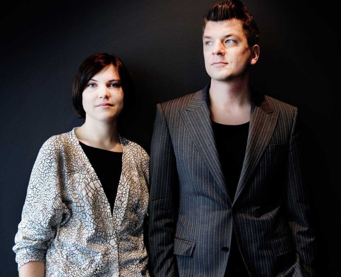 """Sara Bergmark-Elfgren och Mats Strandberg har skrivit """"Cirkeln""""."""