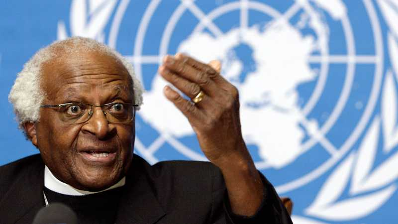 1984 fick sydafrikanen Desmond Tutu fredspriset för sitt arbete mot apartheid (bilden är från 2006).