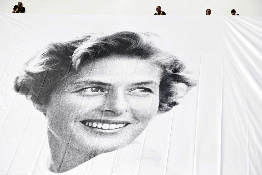 Ingrid Bergman - Cannes.