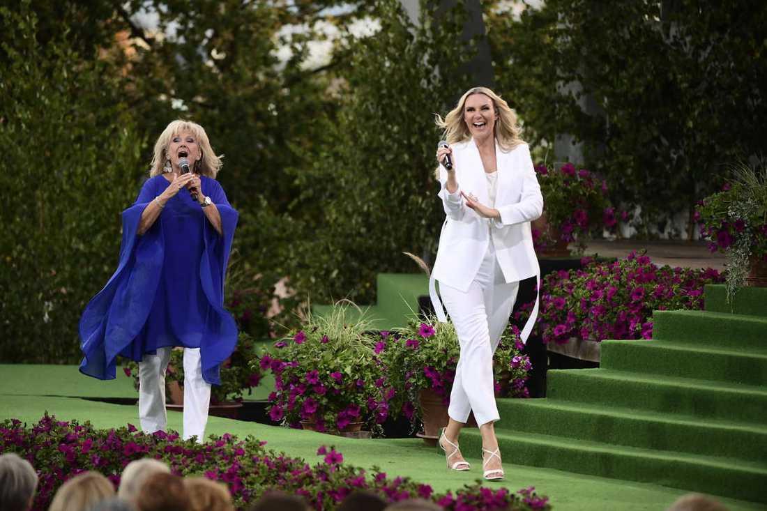 Ann-Louise Hanson och Sanna Nielsen.