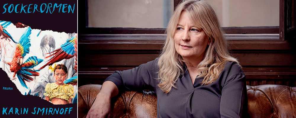 """""""Sockerormen"""" är Karin Smirnoffs första bok efter den framgångsrika JanaKippo-trilogin."""