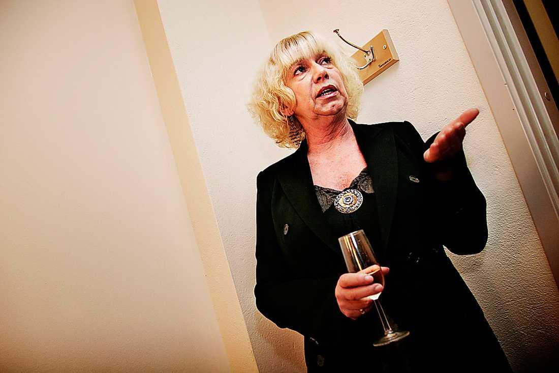 Forskaren Eva Lundgren väckte uppståndelse på 90-talet.