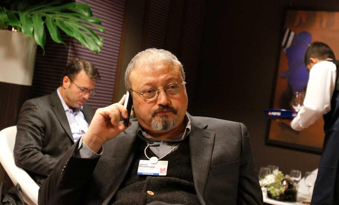 Den saudiske journalisten Jamal Khashoggi är försvunnen. Arkivbild.
