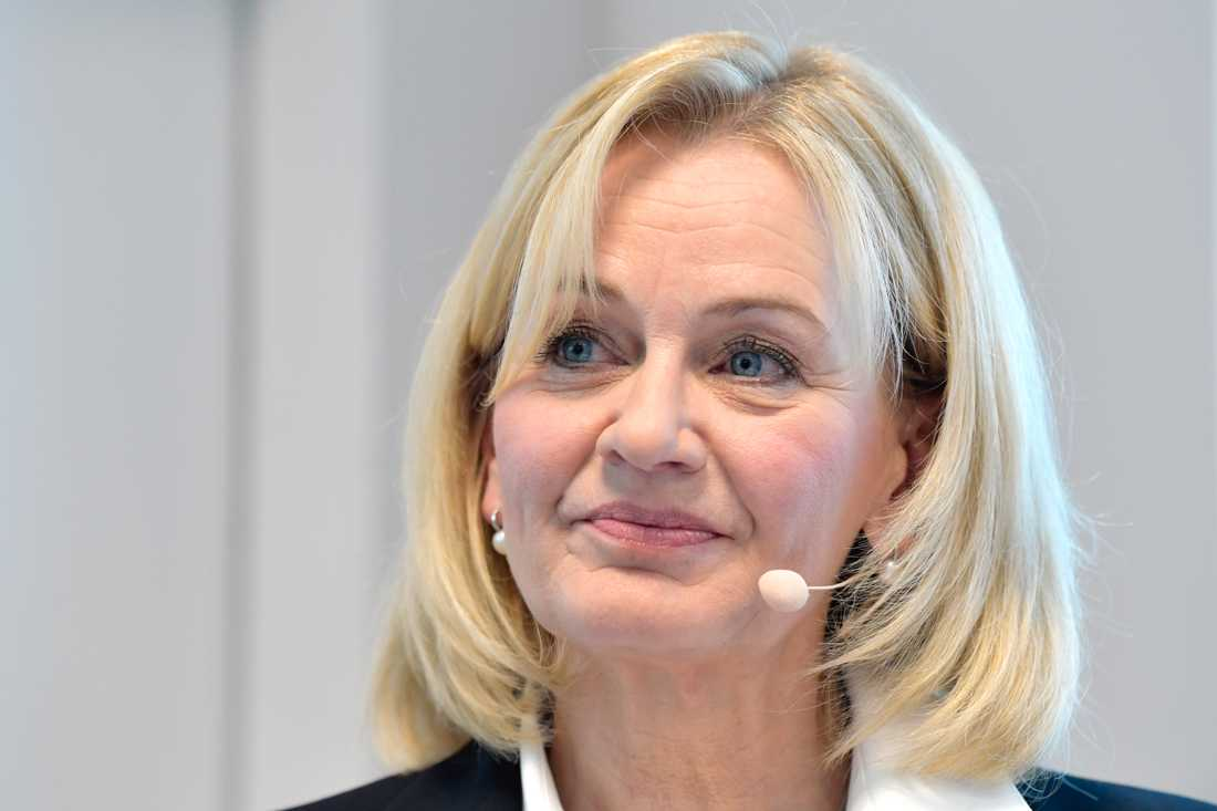 Handelsbankens vd och koncernchef Carina Åkerström. Arkivbild.