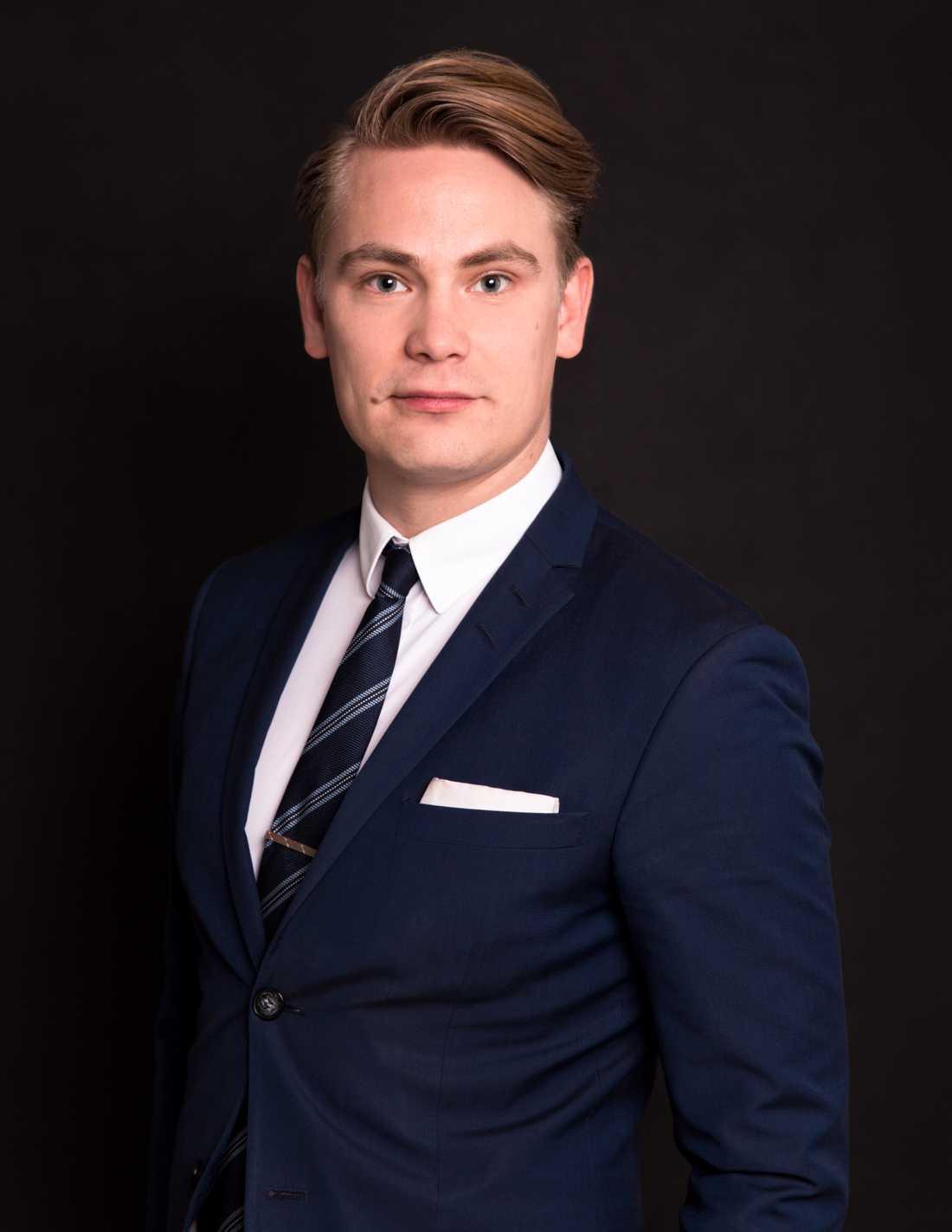 Biträdande jurist Harri Keränen.