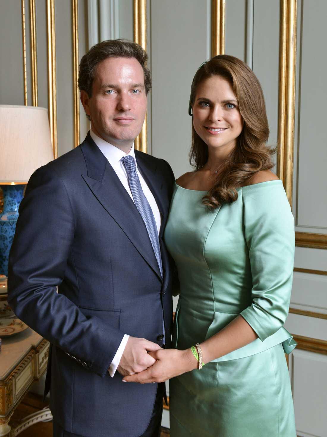 Prinsessan Madeleine med Chris.