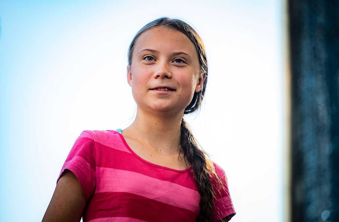 Greta Thunberg i New York.