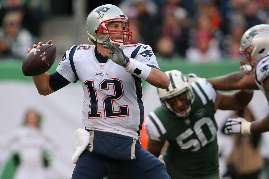 New England Patriots och Tom Brady är i Super Bowl.