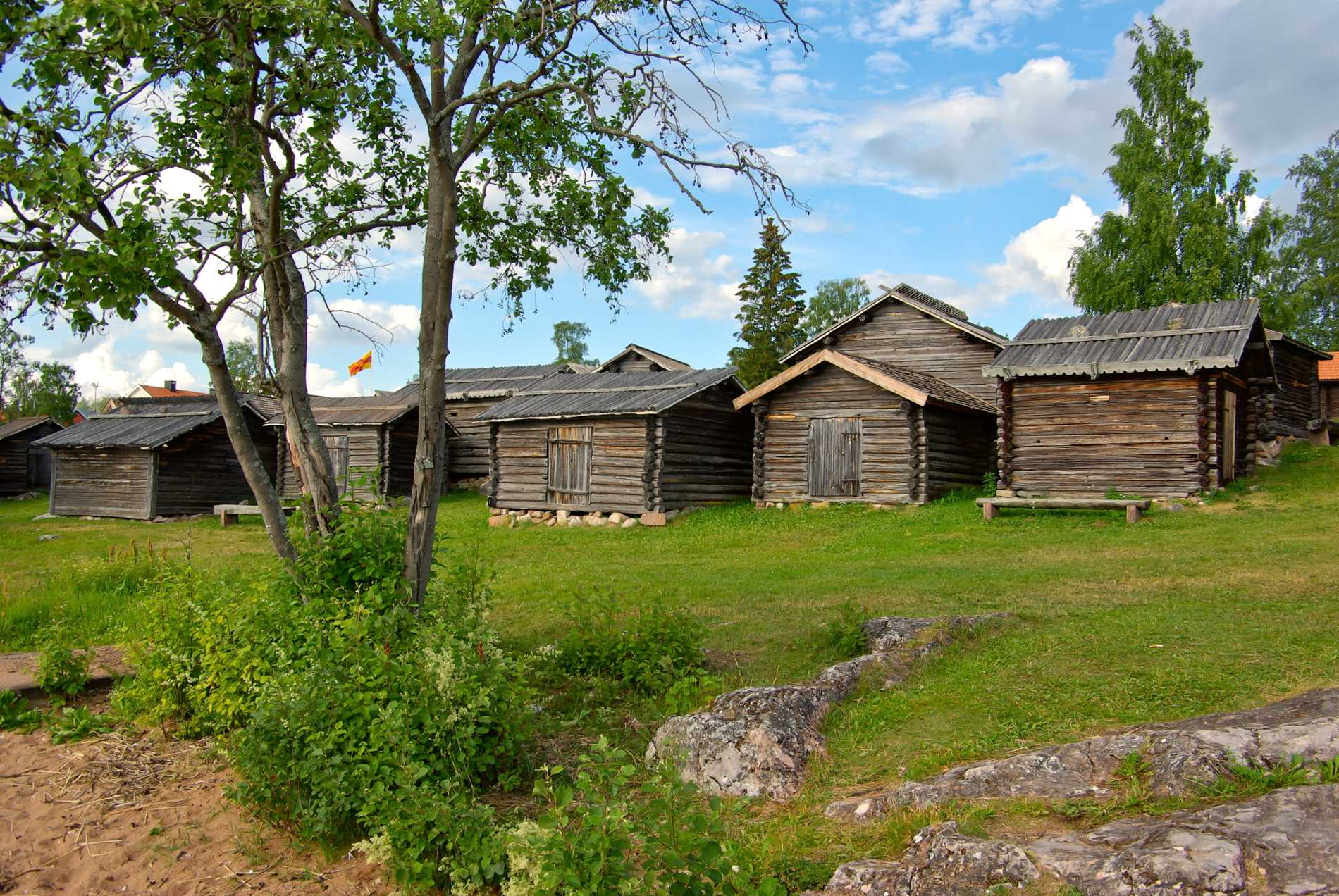 I Rättvik ligger den spektakulära utomhusarenan Dalhalla.