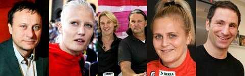 Michael Nyqvist, Carolina Klüft, Simon & Thomas, Tina Thörner och Paolo Roberto delar med sig av sina bästa tips inför bokrean.