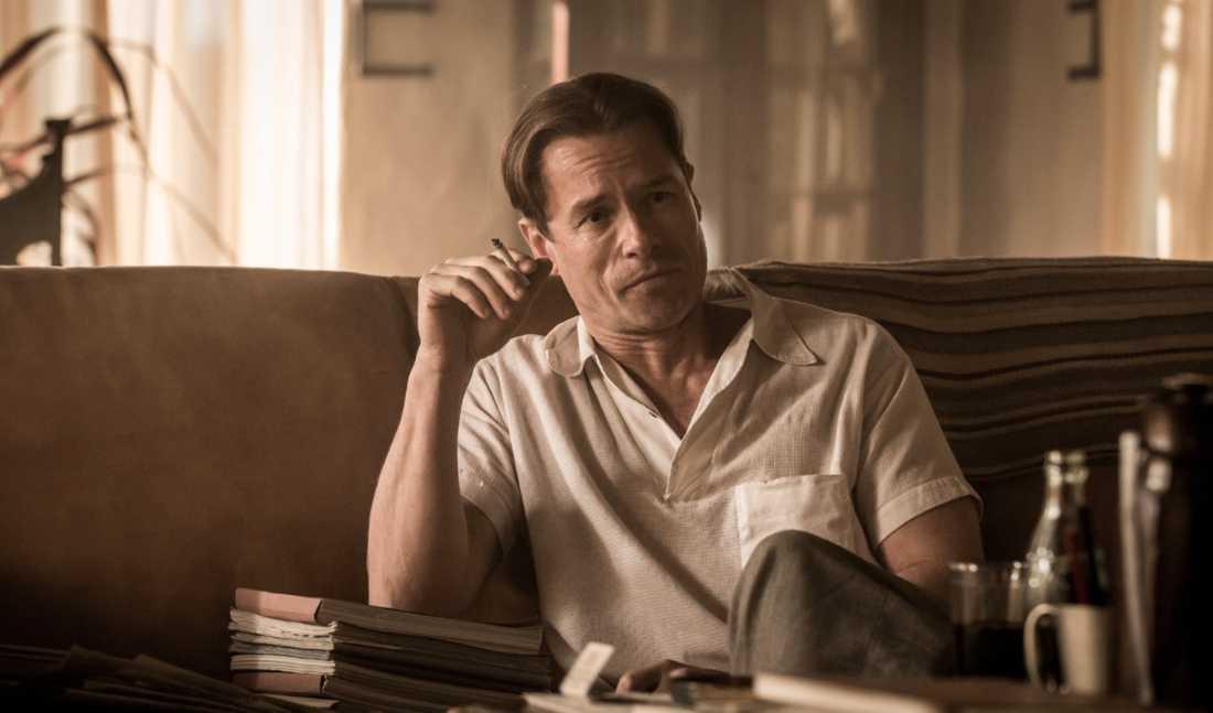 """Guy Pearce som F. Scott Fitzgerald, som skrev """"Den store Gatsby""""."""