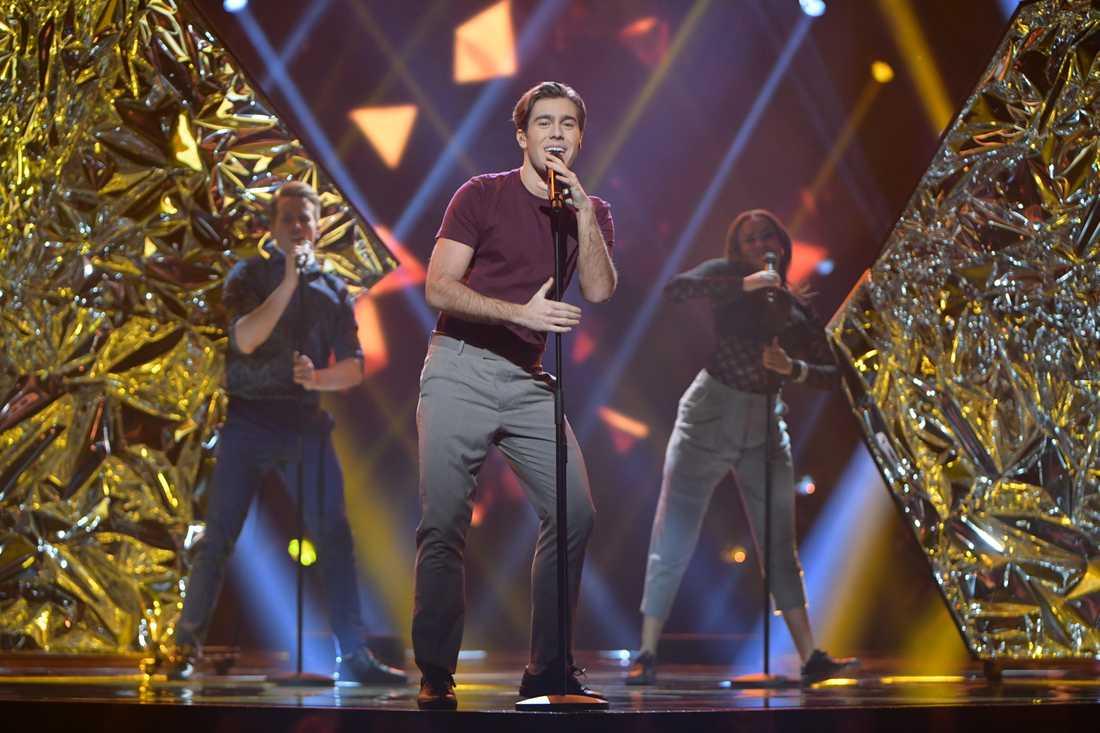 Benjamin Ingrosso i Melodifestivalen 2017