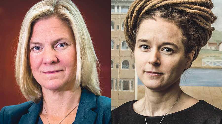 Regeringen har i dag fattat ett beslut som gör att digitalmomsen sänks från den 1 juli 2019, skriver Magdalena Andersson och Amanda Lind.