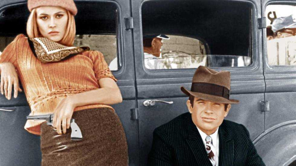"""""""Bonnie och Clyde"""" (1967) blev början till en Hollywoodrevolution."""