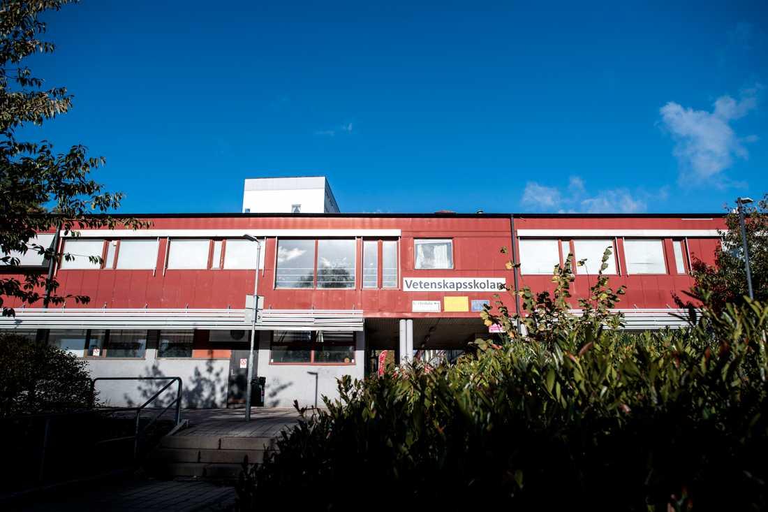 Vetenskapsskolan, i Kortedala utanför Göteborg, har bytt namn till Safirskolan. Arkivbild.