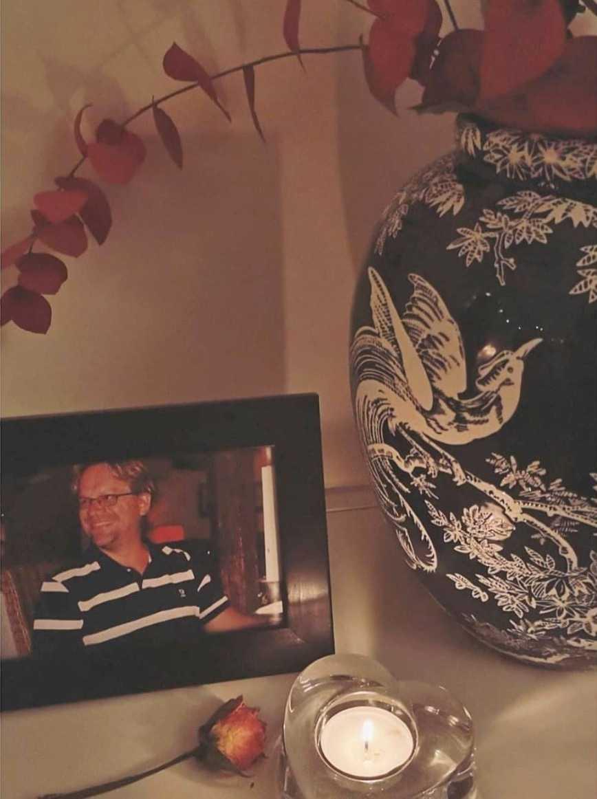 Sisselas pappa Per tog sitt liv när hon var 19 år.