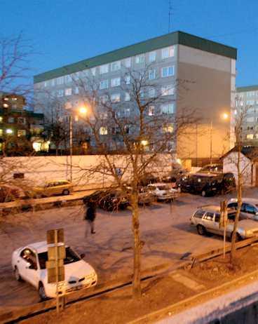 Tensta – Stockholmsförort på ghettolistan.