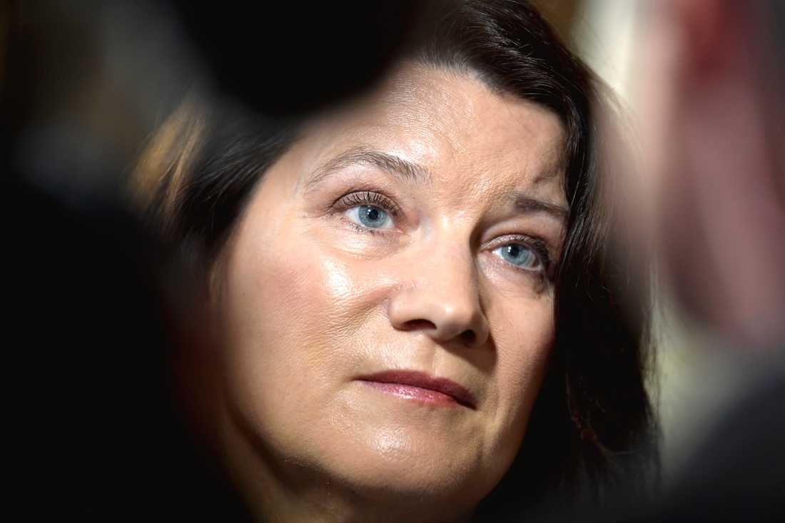 Utrikesminister Ann Linde (S) vill att EU diskuterar både fördömanden av och sanktioner mot Turkiet. Arkivbild.