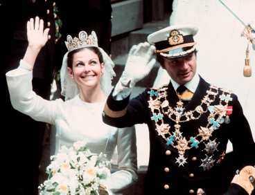1976 Bröllopet.