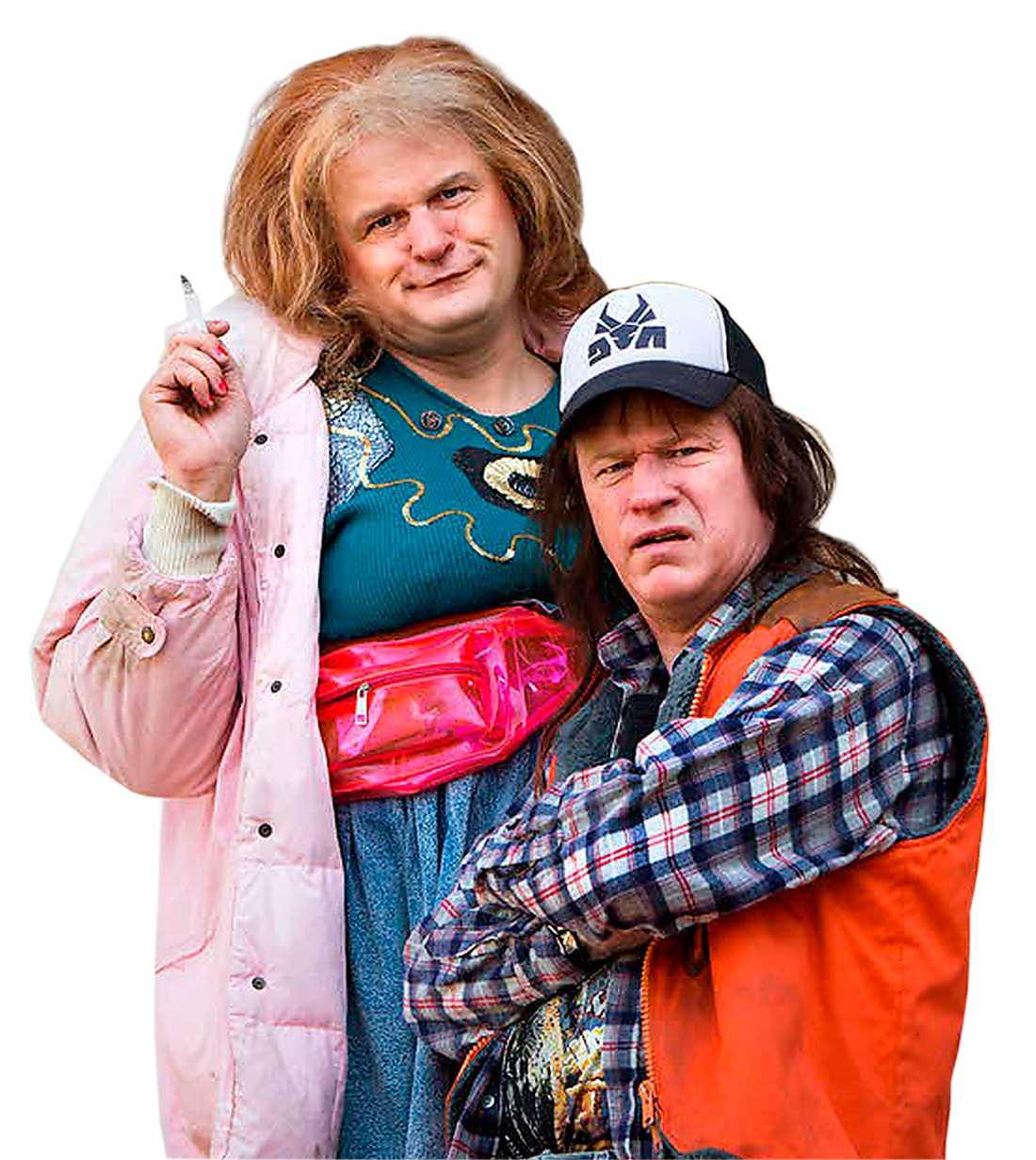 """""""Morran och Tobias"""" med Johan Rheborg och Robert Gustafsson visas på SVT Play."""