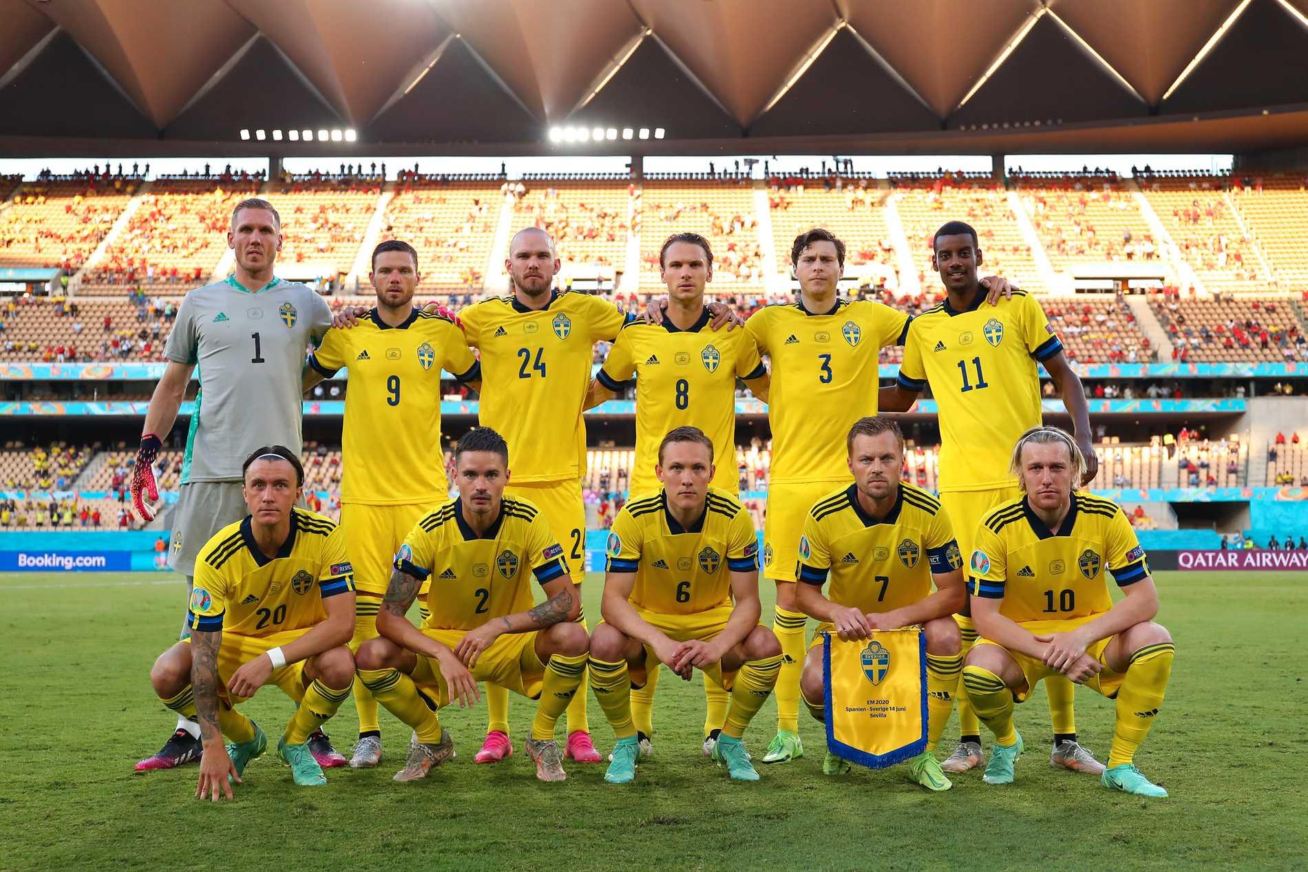 Sveriges startelva mot Slovakien i EM är densamma som mot Spanien.
