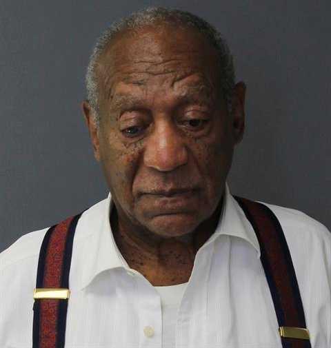 Bilden som visar Bill Cosby strax efter ankomsten till fängelset har släppts av Montgomery county correctional facility.