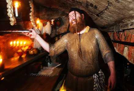 Grågåsen – tillbaka till medeltiden.
