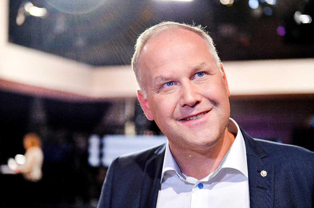 Jonas Sjöstedt, partiledare för Vänsterpartiet.