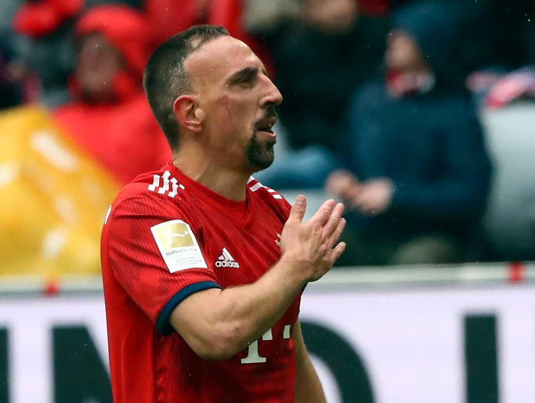 Franck Ribery lämnar Bayern München efter tolv år i klubben
