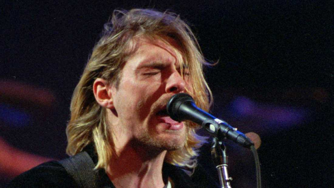 Kurt Cobain dog 1994, bara 27 år gammal.