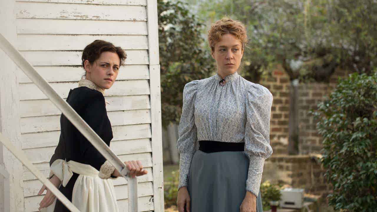 "Kristen Stewart och Chloë Sevigny i ""Lizzie""."