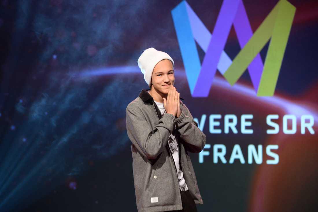 Frans är tillbaka - tio år efter genombrottet med hyllningslåten till Zlatan ställer han upp i Melodifestivalen
