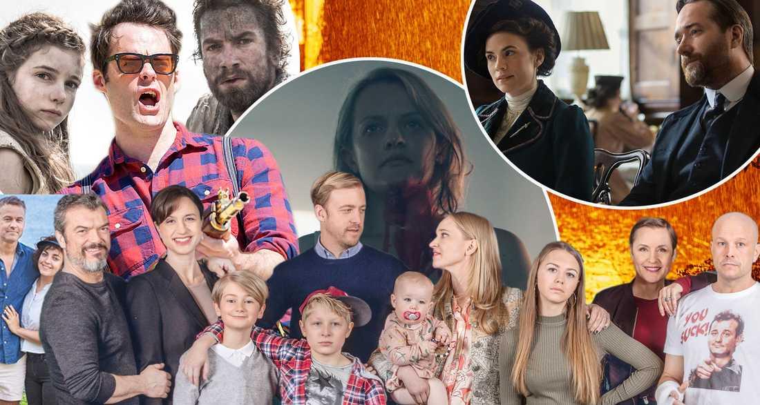 bästa serierna på viaplay 2018