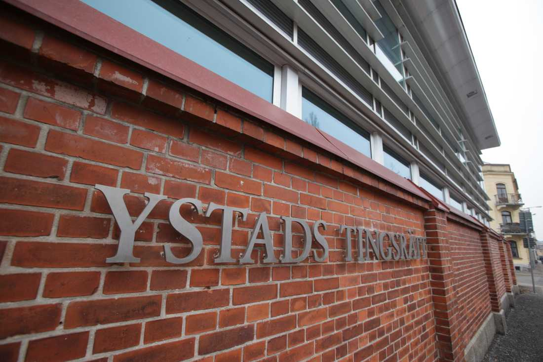 Tre män åtalas för knarksmuggling vid Ystads tingsrätt. Arkivbild.