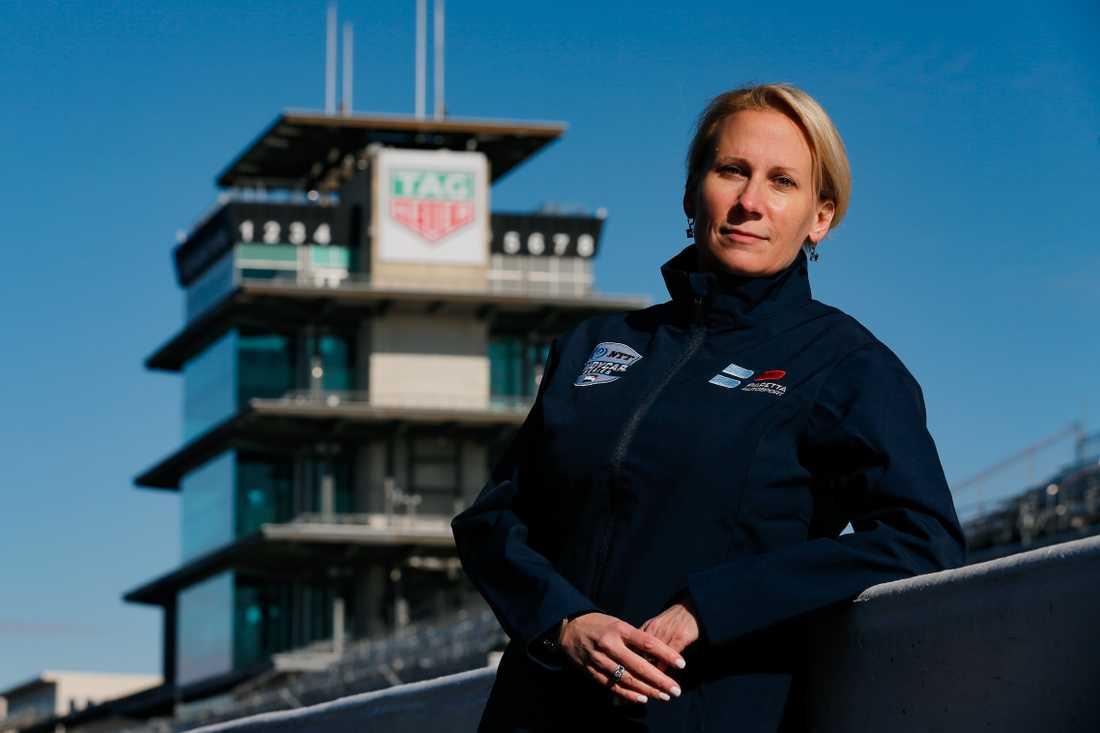 Beth Paretta vill satsa på kvinnor inom IndyCar