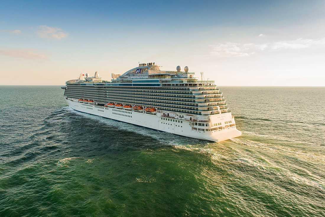 Royal Princess seglar sommaren 2013 i Medelhavet och till vintern i Karibien.
