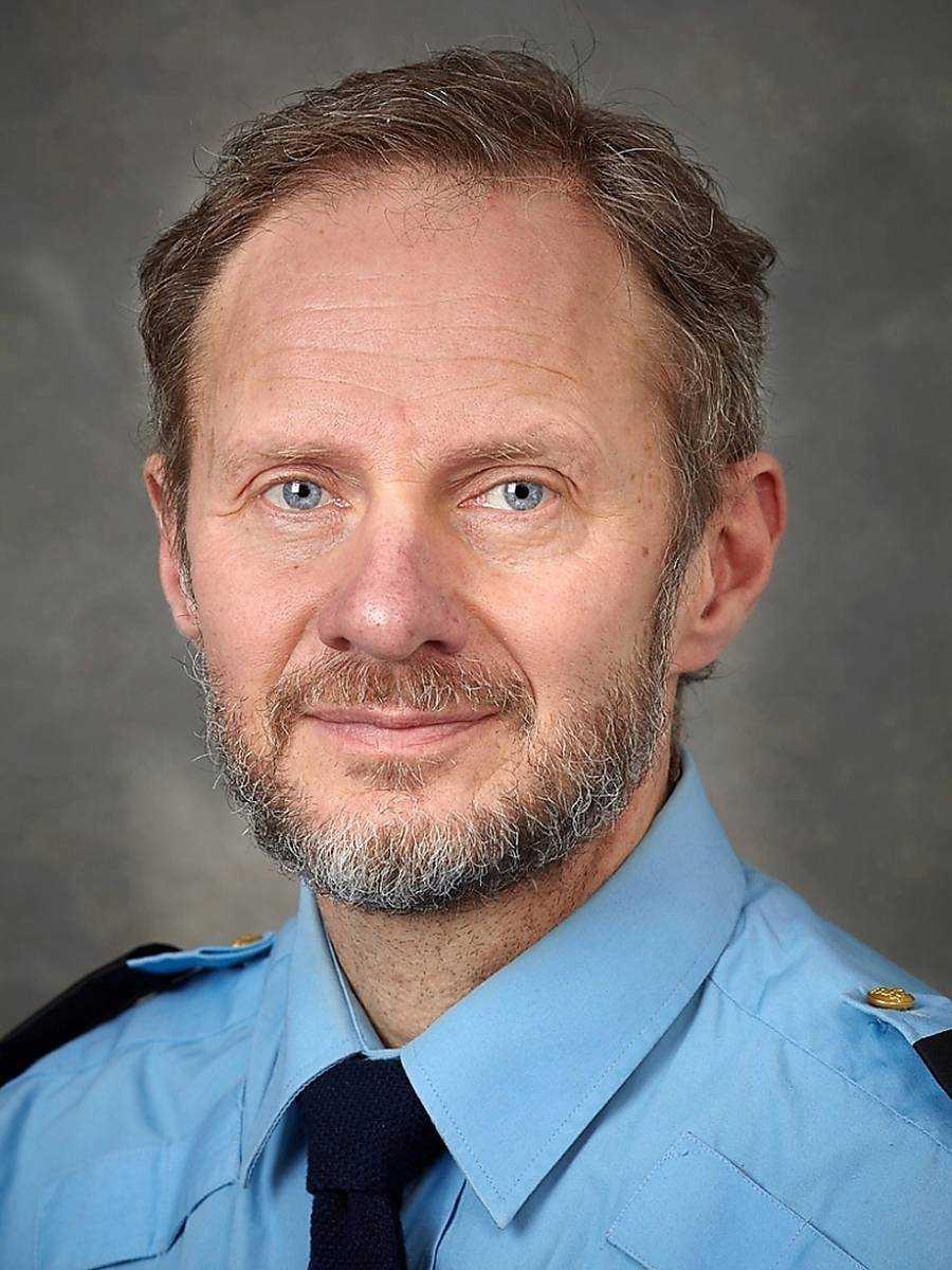 Anders Olofsson vid Polisen.