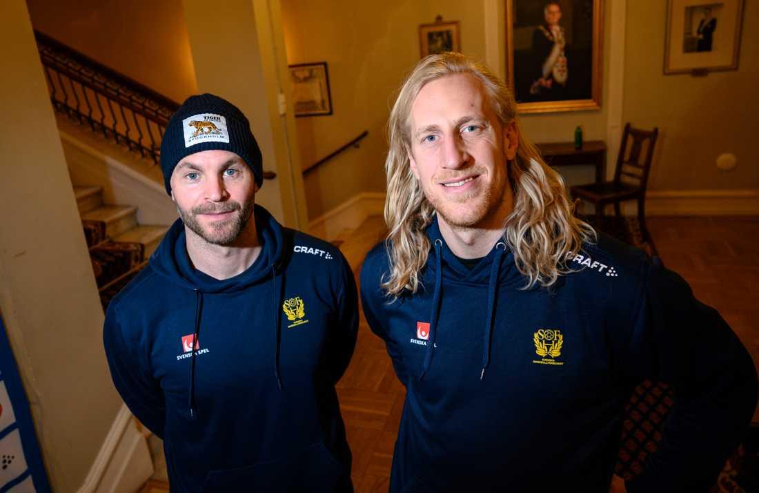 Sveriges målvakter Andreas Palicka och Mikael Appelgren blir viktiga om Sverige ska gå långt i EM.
