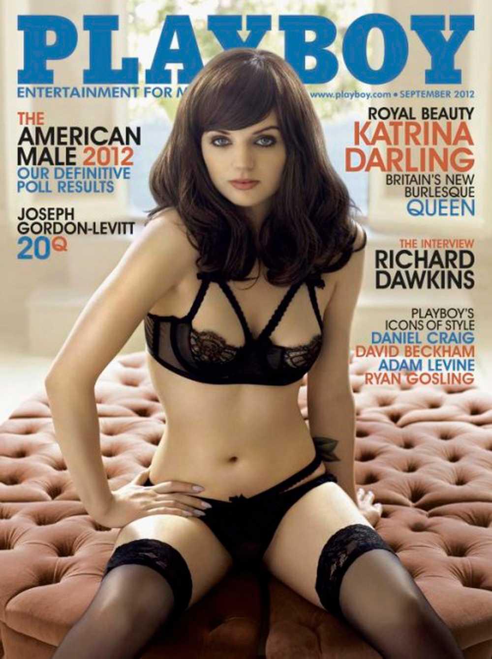 Hon har tidigare frontat omslaget av Playboy.