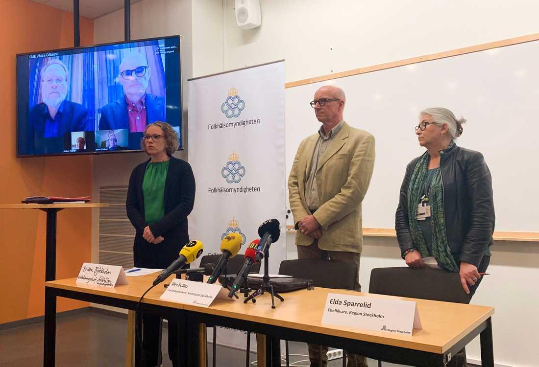 Svenska myndigheter måste vara konkreta om coronaviruset, skriver Peter Kadhammar.