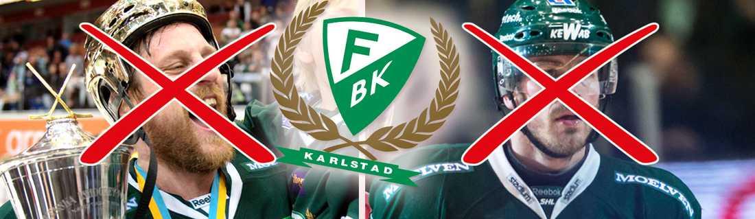 Berglund och Bastiansen lämnar Färjestad.
