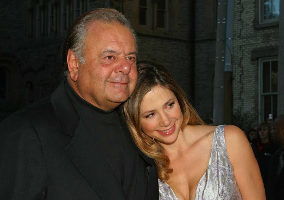 Paul Sorvino och dottern Mira.